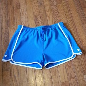 Under Armour Heat Gear Ayhletic Shorts Size Large